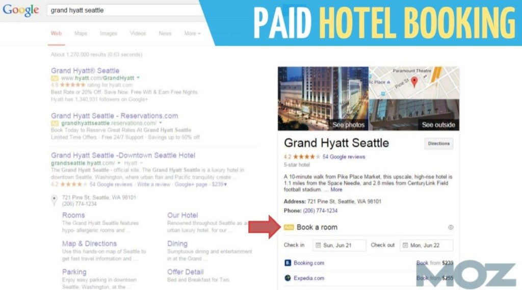 Paid Hotel Booking Ad