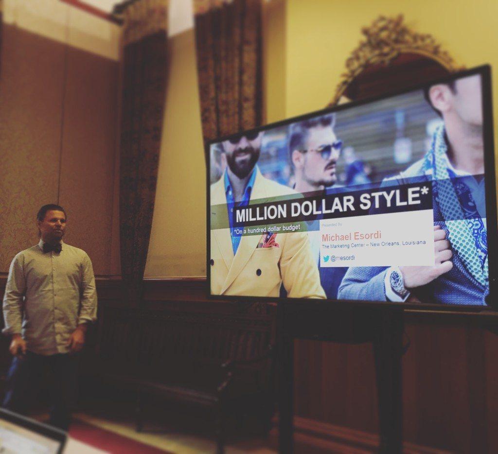 Mike Esordi – Million Dollar Style On a Hundred Dollar Budget – Big Digital Adelaide 2016